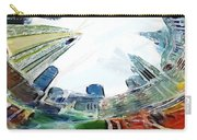 New York Looking Up The Sky Carry-all Pouch