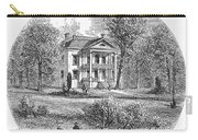 New York: Mansion, 1760 Carry-all Pouch