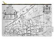 New York Map, 1730 Carry-all Pouch