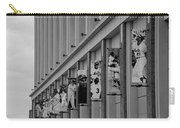 New York Mets Of Old  In Black And White Carry-all Pouch