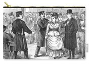 New York Police Raid, 1875 Carry-all Pouch