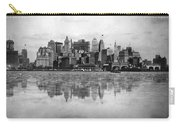 New York Skyline Reflected Carry-all Pouch