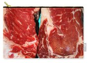New York Steak Raw Carry-all Pouch