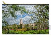 Newport Beach Temple Pine Carry-all Pouch