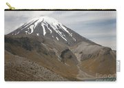 Ngauruhoe Cone And Upper Tama Lake Carry-all Pouch