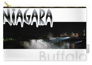Niagara At Night Carry-all Pouch