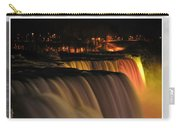 Niagara Falls Usa Triptych Series Carry-all Pouch