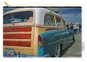 Nice Old Woody Carry-all Pouch