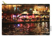 Night Glow On River Walk Carry-all Pouch