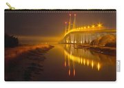 Night Lights Carry-all Pouch by Debra and Dave Vanderlaan