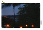 Night Lights On The Mountain Carry-all Pouch