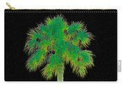 Night Of The Green Palm Carry-all Pouch