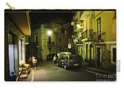 Night Scene In Sicily Carry-all Pouch