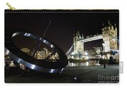 Night View Of The Thames Riverbank Carry-all Pouch