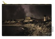 Nightfall Over Hard Time - San Quentin California State Prison - 5d18454 - Partial Sepia Carry-all Pouch