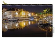 Nighttime Along The River Leie Carry-all Pouch