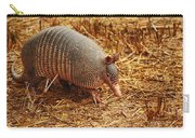 Nine-banded Armadillo Portrait Carry-all Pouch