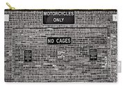 No Cages Carry-all Pouch
