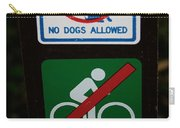 No Fun Allowed Carry-all Pouch