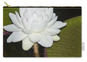 Nocturnal Blossom Of Victoria Lily Carry-all Pouch