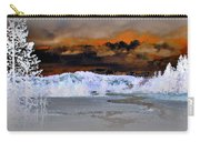 Norris Geyser Basin Abstract Carry-all Pouch