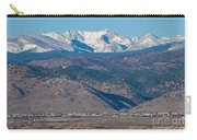 North Boulder Colorado Front Range View Carry-all Pouch