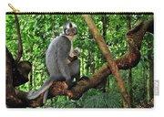 North Sumatran Leaf Monkey Presbytis Carry-all Pouch