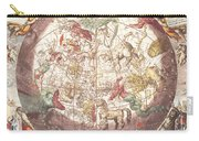 Northern Boreal Hemisphere From The Celestial Atlas Carry-all Pouch by Pieter Schenk