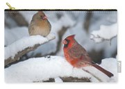 Northern Cardinal Pair 4284 2 Carry-all Pouch