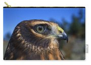 Northern Harrier Raptor In Profile Carry-all Pouch