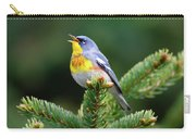 Northern Parula Parula Americana Male Carry-all Pouch