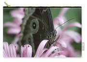 Northern Pearly-eye On Pink Carry-all Pouch