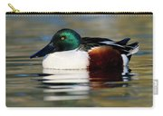 Northern Shoveler Anas Clypeata Male Carry-all Pouch