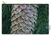 Norway Spruce Cone Carry-all Pouch