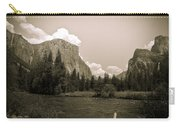 Nostalgic Yosemite Valley Carry-all Pouch