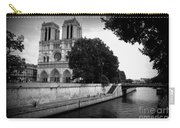 Notre Dame Along The Seine Carry-all Pouch