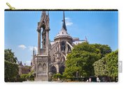 Notre Dame Cathedral Backside Carry-all Pouch