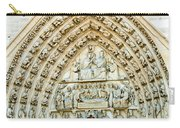 Notre Dame Cathedral Center Entry Carry-all Pouch