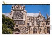 Notre Dame Cathedral Rose Window Carry-all Pouch