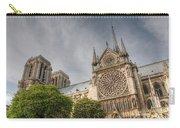 Notre Dame De Paris Carry-all Pouch by Jennifer Ancker