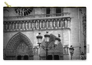 Notre Dame With Luminaires Carry-all Pouch