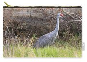 November Sandhill Crane Carry-all Pouch