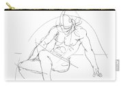 Nude-male-drawings-13 Carry-all Pouch