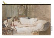 Nude On A Sofa Carry-all Pouch