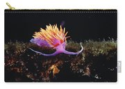 Nudibranch Brightly Colored Arctic Ocean Carry-all Pouch by Flip Nicklin