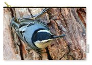 Nuthatch Heading Down Carry-all Pouch