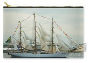 Nve Cisne Branco Passing By Fort Mchenry Carry-all Pouch