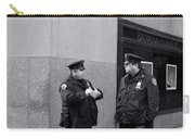 Ny Beat Cops Holding The Banana Republic Carry-all Pouch