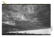 Ny Skyline Approaching Storm Carry-all Pouch