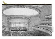 Nyc: Carnegie Hall, 1891 Carry-all Pouch